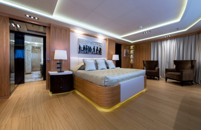 Super Yacht NATALINA A - Master suite 2
