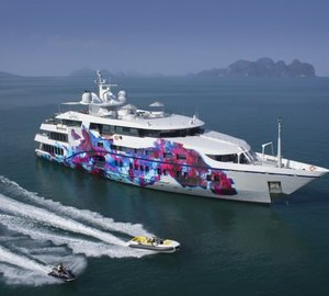 The majestic superyacht SALUZI offers an incredible discount of 20% off all charters booked this winter!