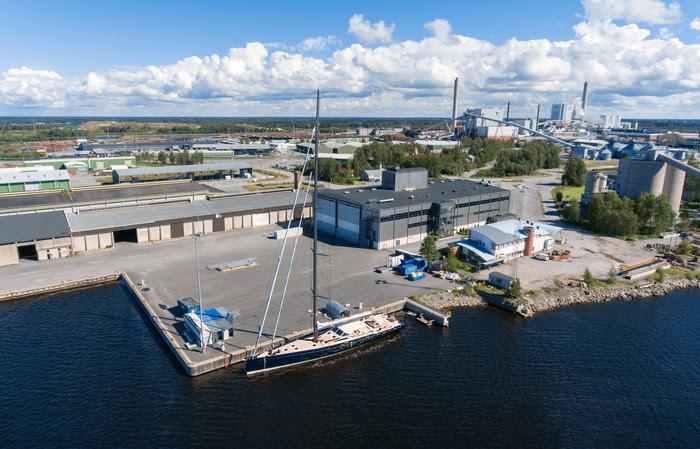 Baltic Yachts facility - Jakobstad, Finland