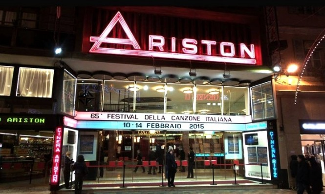 The Ariston Theatre hosts the annual Sanremo Music Festival