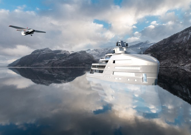 Explorer superyacht Taboo exterior