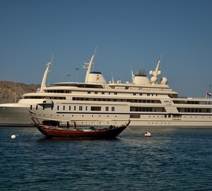 "Mega Yacht ""Al Said"" in Oman"