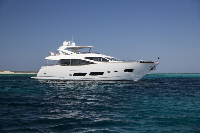 Luxury yacht PLAY THE GAME by Sunseeker