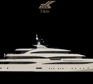 Highly Anticipated Superyacht: CRN's 74 m Yacht CLOUD 9