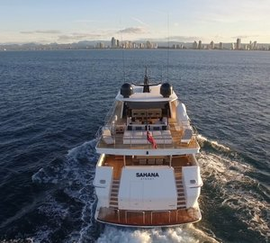 The best of Australia aboard luxury M/Y Sahana