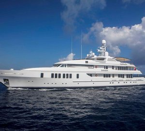 Charter superyacht Samadhi in the Bahamas and Cuba this winter