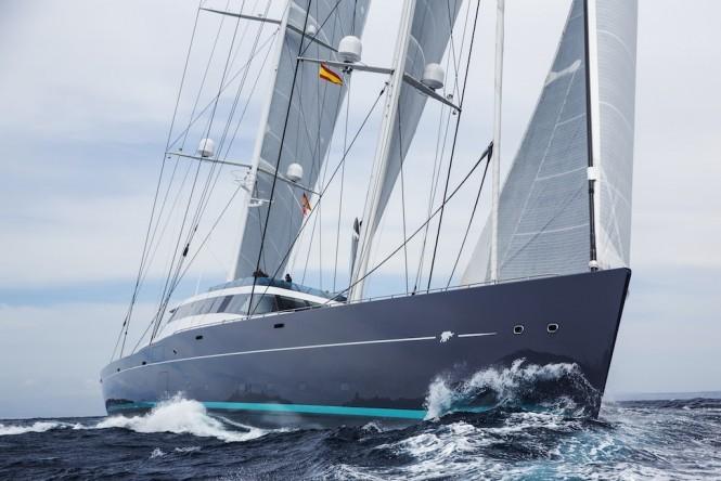 AQuiJo yacht Photo by Stuart Pearce