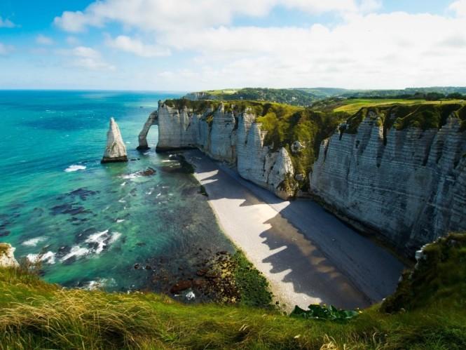Croatia - Beach cliffs and arches
