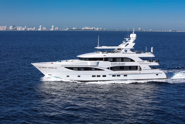 King Baby by IAG Yachts off Florida