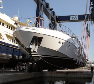 Yacht Launch: the Second Unit of the Mangusta 132 Series from Overmarine