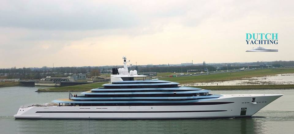 Oceanco Project Jubilee photo by Dutch Yachting