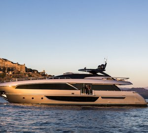 First Ever Images of the Impressive Yacht Riva 100' Corsaro
