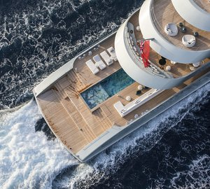 Superyacht Royal Romance Photo Credit Jan Ramaker Yacht Charter
