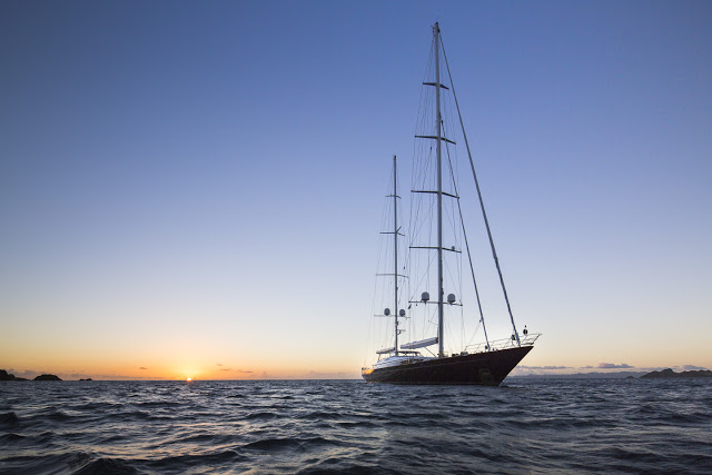 S/Y Panthalassa. Photo credit Alexis Andrews