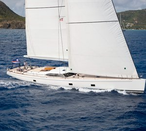 Sailing yacht Rapture available for South Pacific charters this summer