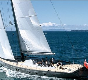 The Beauty of New Zealand is yours when you charter Sailing Yacht Silvertip