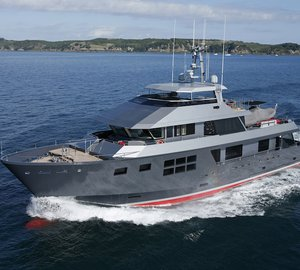 Charter superyacht Akiko from the Coral Coast to the Kimberleys in Western Australia