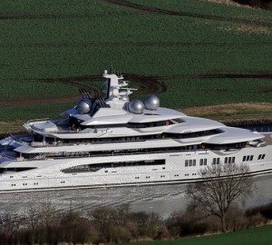 Highly Anticipated Mega Yacht Delivery of 2017: Lurssen Project Mistral named Amadea