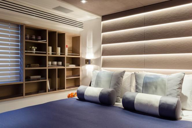 Luxury yacht Asya - Master suite