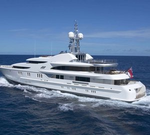 Feadship luxury yacht Anna ready for Mediterranean charter