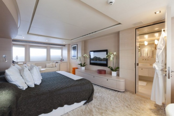 Motor yacht G3 - Master suite