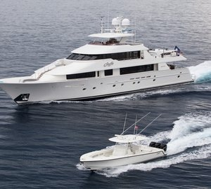 Superyacht Kemosabe available for events in the Caribbean, Bahamas and North America
