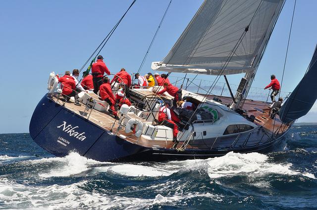 Sailing yacht NIKATA - Photo credit: Ian Campbell