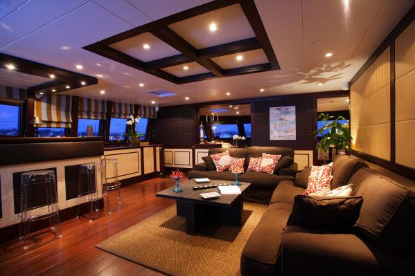 Superyacht ALLURES - Salon