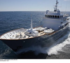 Superyacht Axantha II is ready for charter in the Mediterranean