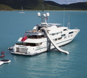 Charter newly refitted superyacht Calypso in the Caribbean and South and Central America