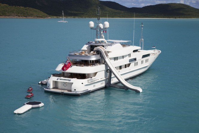 Superyacht CALYPSO - Built by Amels