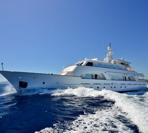 Charter superyacht COMMITMENT in the Mediterranean this summer