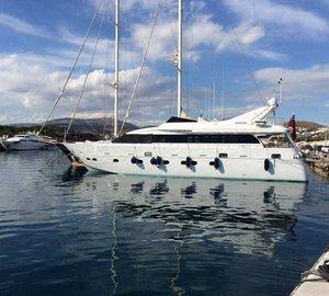 Cruise the Eastern Mediterranean aboard charter yacht Nashira