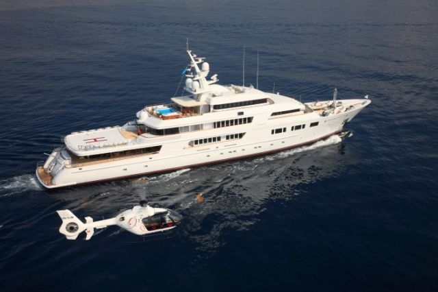 Superyacht NOMAD built by Oceanfast
