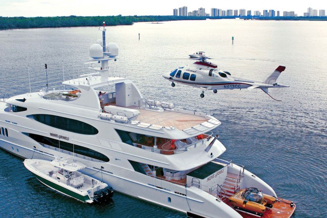 Top 15 Superyachts With Helicopters Yacht Charter Superyacht News