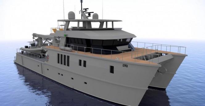 Catamaran The Beast Profab Engineering