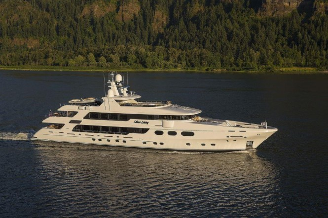 Charter superyacht SILVER LINING in New England