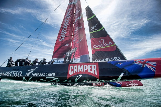 EMIRATES TEAM NEW ZEALAND - Photo credit RALI New Zealand
