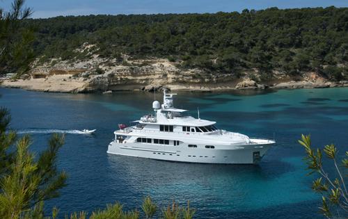 Kingship Magellan superyacht CHRISTINA G