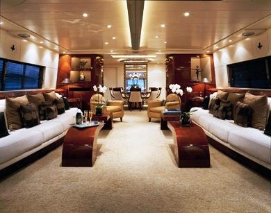 Luxury yacht COSTA MAGNA - Main salon