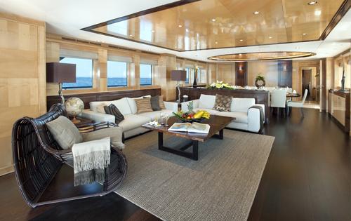 Main salon - Luxury yacht CHRISTINA G
