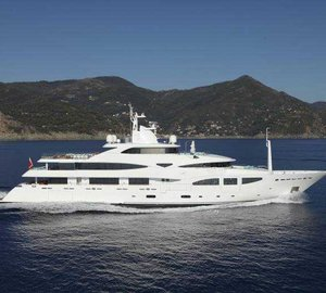 Luxury yacht RAMBLE ON ROSE available for charter in the Western Mediterranean