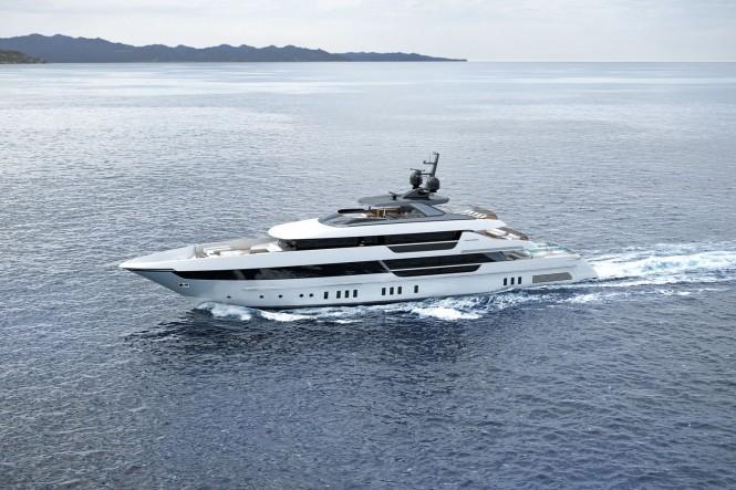 Motor yacht SEVEN SINS - Photo credit Sanlorenzo