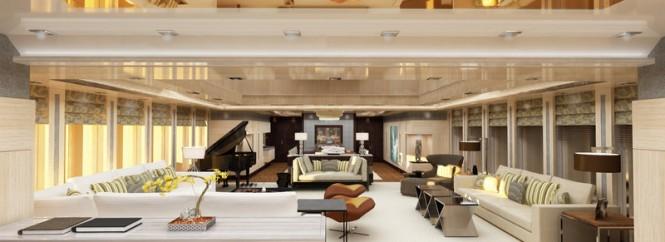 Motor yacht VICKY - Main salon