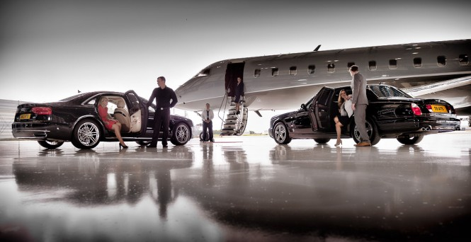 Private jet. Photo credit Michael Molloy