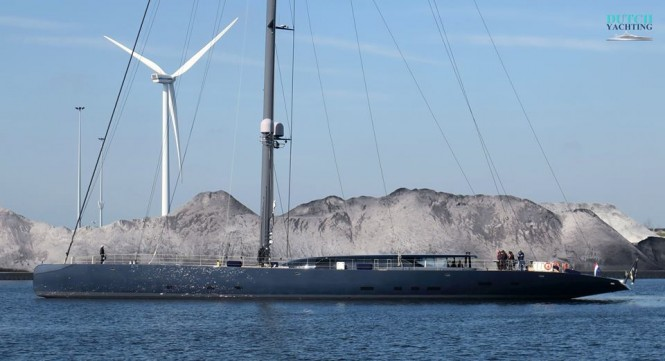 Recently launched Sailing yacht Ngoni. Photo © Dutch Yachting