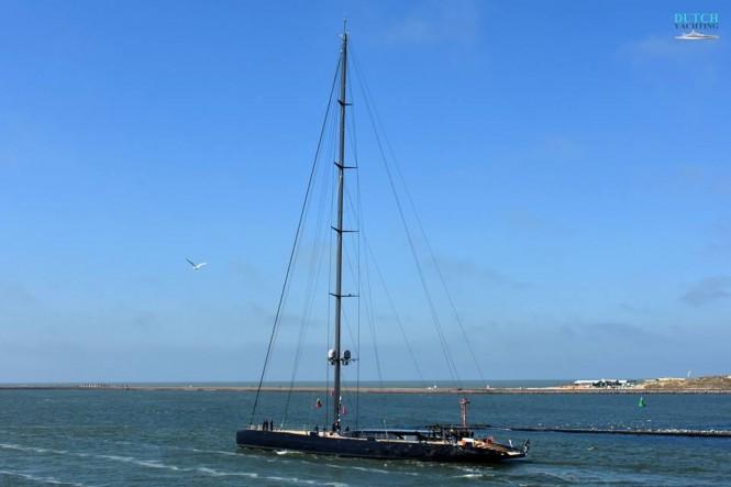 Royal Huisman Launch Sailing yacht Ngoni. Photo Credit Jan Ramaker