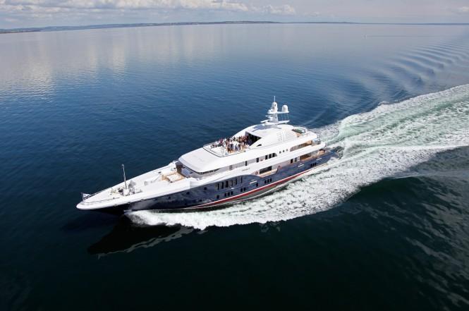 SYCARA V from above - photo credit Nobiskrug shipyard