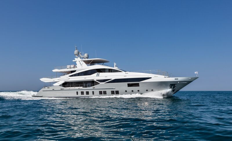 Superyacht H - Built by Benetti