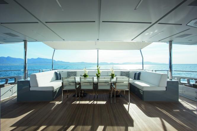 Superyacht H - Main deck aft